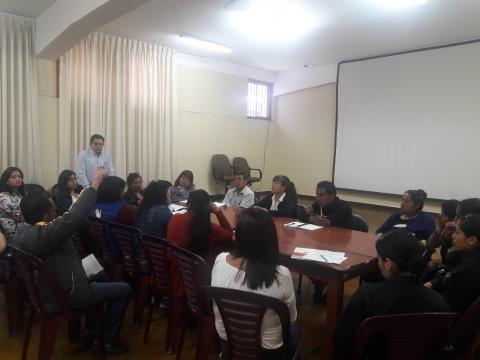 Se aprueba programa por dia Internacional de la Mujer- en Apurimac se continua con la lucha contra la violencia hacia la mujer