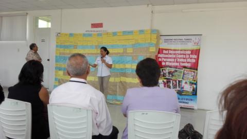 Reunión de asistencia técnica para la actualización del Plan regional contra la trata de personas