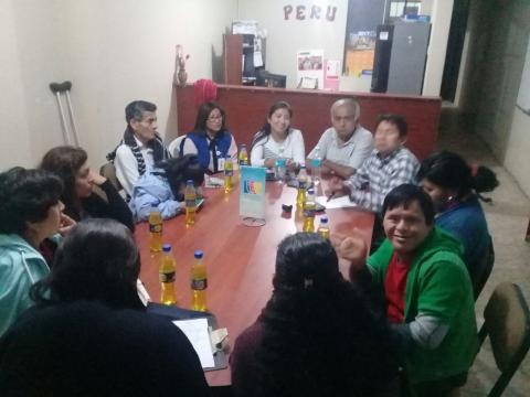 Tercera reunión de trabajo para la articulación de acciones a favor de personas con Síndrome de Down.
