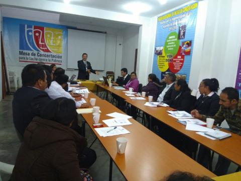 Segunda reunión ordinaria del Comité Ejecutivo Regional de la Mclcp Amazonas