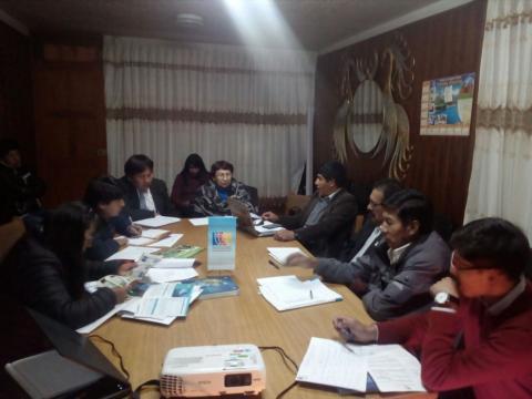 Miembros del Eje Económico de la MCLCP regional,  debaten prioridades a ser consideradas en  Acuerdo de Gobernabilidad  2019 -2022
