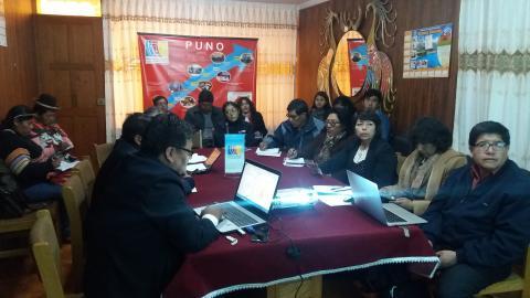 MCLCP Puno avanza propuestas sociales para el Acuerdo de Gobernabilidad