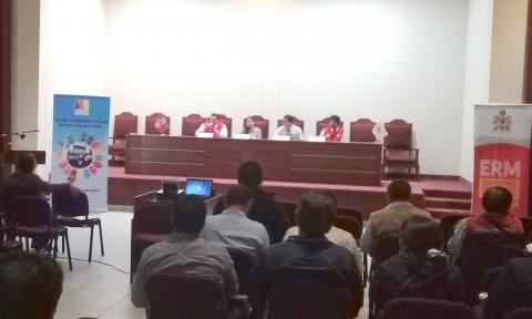 Mesa de Concertación Moquegua participó en   taller de capacitación dirigido a organizaciones políticas