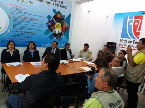 Acuerdo de Gobernabilidad Región Amazonas 2019-2022
