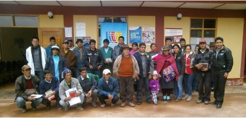 Centros Poblados se unen para conformar Mesa de Concertación para la Lucha contra la Pobreza en Huánuco