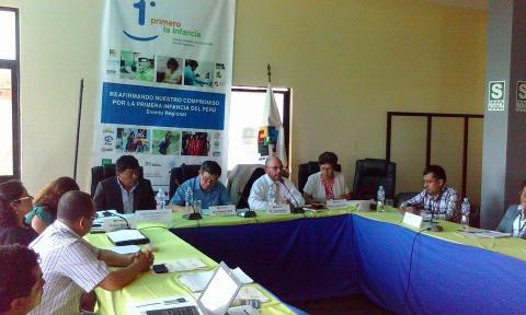 Mesa de Concertación participa en talleres de Desarrollo Infantil Temprano