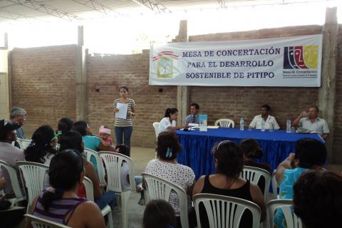 Reinstalan Mesa de Concertación para la Lucha contra la Pobreza del distrito de Pítipo.