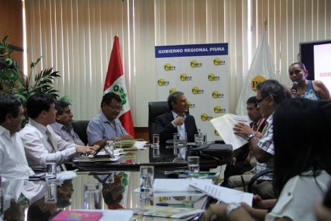 Gobierno Regional de Piura asume compromisos del Pacto de Gobernabilidad