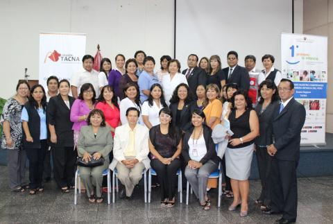 Taller Primero la Infancia en Tacna