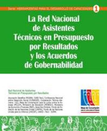 La Red Nacional de Asistentes Técnicos en Presupuesto por Resultados y los Acuerdos de Gobernabilidad