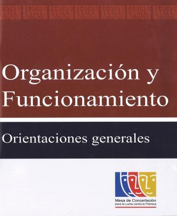 Organización y Funcionamiento