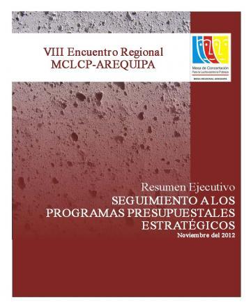 VIII Encuentro Regional MCLCP - Arequipa