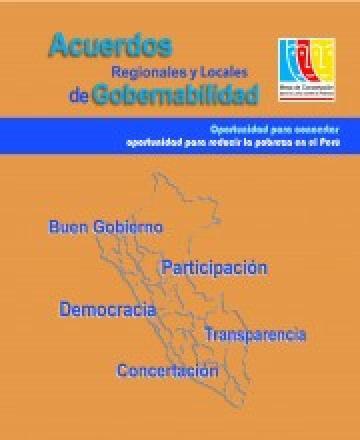 Acuerdos de Gobernabilidad  2015-2018 - Oportunidad para Concertar