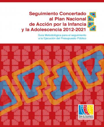 Seguimiento concertado al Plan Nacional de Acción por la Infancia
