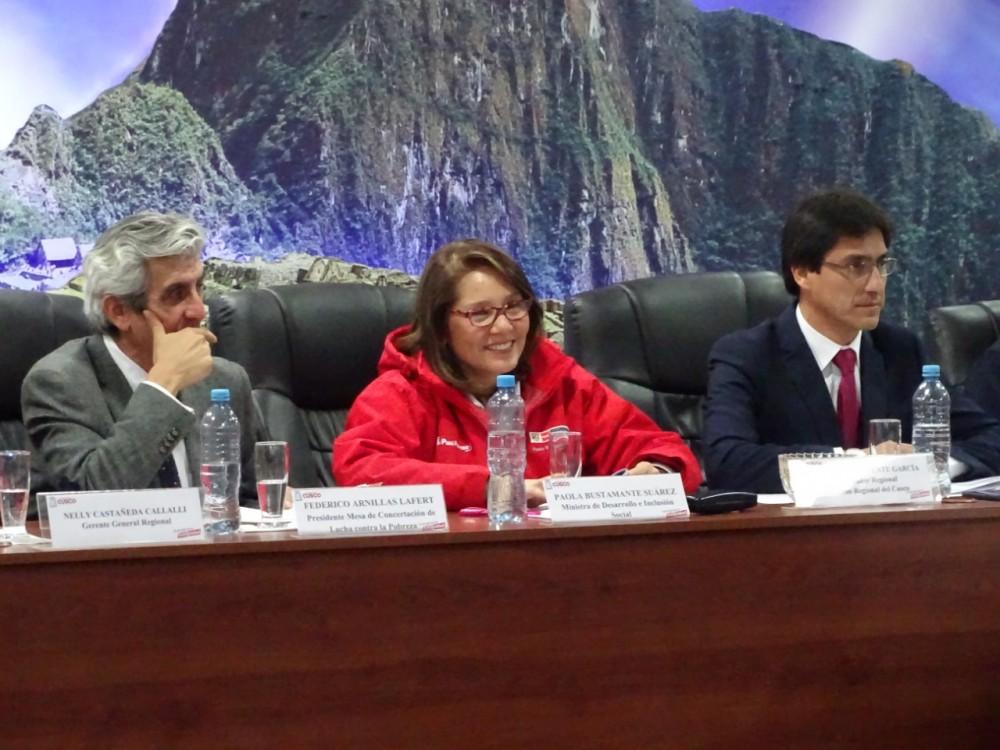 Lanzamiento Del Sello Regional ¨Tinkuy Para El Desarrollo